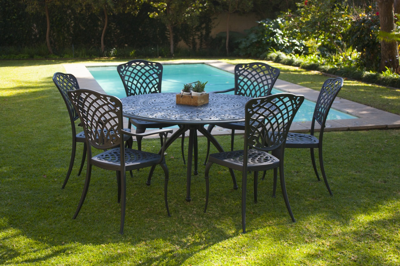 Regent outdoor furniture in a lifestyle setting the now defunct cape town