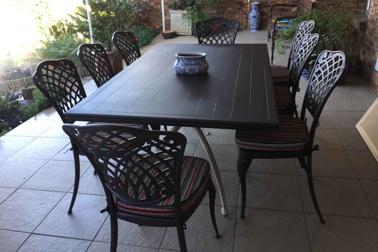 Serengeti Collection 180cm x 107cm rectangular table
