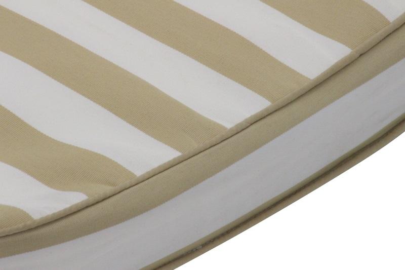 Beige Stripe Cushion