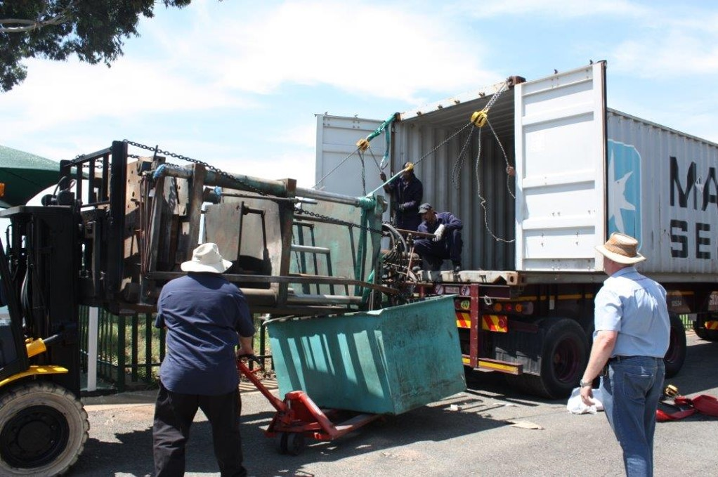 Furniture Dies arrive from China